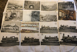 Antique Postcard And Photo Lot Antique London And North Western Railways Railroad
