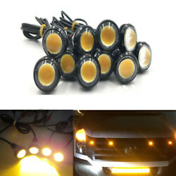 Led Amber Raptor Style Grille Mark Light For Ford F250 F350 F450 Super Duty Suv
