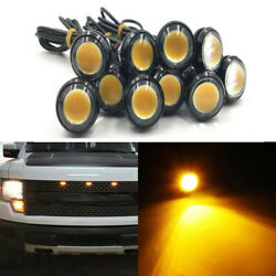 For Ford Raptor Style Led Grille Light For Chevy Dodge Gmc Suv For Side Markers