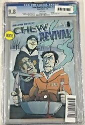 Chew Revival1 Cgc 9.8 Dynamic Forces Limited Edition 2014 Image Comics
