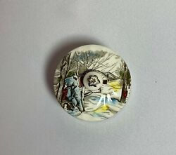 Rare Johnson Brothers Friendly Village Round Covered Butter Made In England