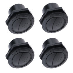 4x Universal 70mm Round A/c Air Conditioning Outlet Vent For Car Rv Boat Yacht