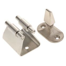 Small Stainless Steel Door Holder Lock Latch Hatch Handle Catch Boat
