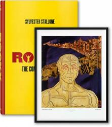 Rocky The Complete Films By Sylvester Stallone English Hardcover Book Free Sh