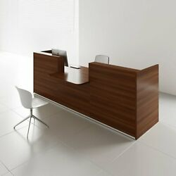 Tera 137 Reception Desk With Counter Top