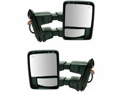 For 2008-2010 Ford F350 Super Duty Door Mirror Set 91541pj 2009 Mirror