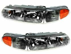 For 1997-2004 Buick Regal Headlight Assembly Set 12721ng 1998 1999 2000 2001