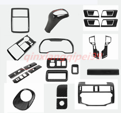 22pcs Carbon Fiber Car Interior Kit Cover For Toyota 4runner Suv 2010-2019