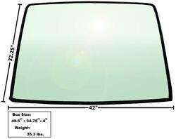 Local Pickup 1967-68 Mustang Fastback Rear Window Tinted Glass W/ Rubber Seal
