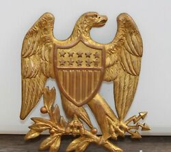 Glorious 19th Century U.s. Eagle Shako Front Plate - Possibly Civil War