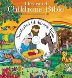 Illustrated Children's Bible With Cd Childrens Bible... By North Parade Publish