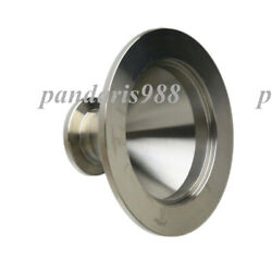 Kf50 Nw50 To Kf16 Nw16 Flange Vacuum Conical Reducer, Stainless Steel 304