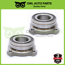 Rear Wheel Bearing And Hub Left And Right Pair Set For Bmw 528 540 5 Series 512225