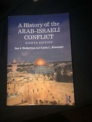 A History Of The Arab - Isreali Conflict 8th Edition