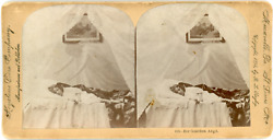 Stereo, A Little Girl Guardian Angel, Ghost, 1894 Vintage Stereo Card - Keystone