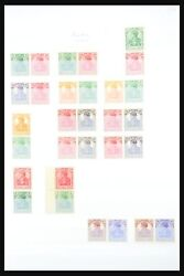 Lot 31391 Collection Mnh Combinations Of Stamps Of German Reich 1913-1941.