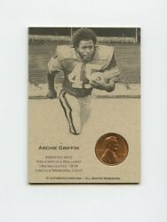 Lk.1324 Archie Griffin 1974 Lincoln Penny Insert Trade Card Rare