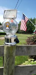 Ford Globe 10 Cent Gumball Machine Vintage Collectable