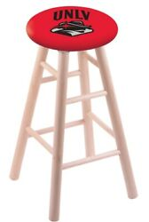 Holland Bar Stool Co. Maple Counter Stool In Natural Finish With Unlv Seat Rc...