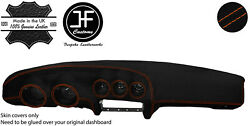 Orange Stitching Dash Dashboard Luxe Suede Cover Fits Datsun 260z 2+2 Jf1