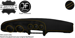 Yellow Stitching Dash Dashboard Luxe Suede Cover Fits Datsun 260z 2+2 Jf1