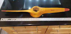 wooden Airplane Propeller Built By Globe Corp