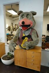 Rare Showbiz Pizza Chuck E Cheese Animatronic Robot Costume