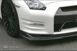 Kansai Service Carbon Front Lip And Brake Duct Set For The Nissan R35 Gt-r