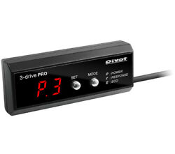 Pivot 3-drive Pro Throttle Controller For Toyota Isis Zgm10 15g 2zr-fae 3dp