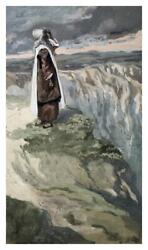 Artworks Italia Moses On The Mountain During The Battle-paper Art-25x42