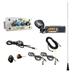 Pci Race Radios 2575 Trax Builder Radio Package 2 Headset/helmet Cables Dsp