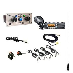 Pci Race Radios 2574 Dsp Trax Builder Radio Package 4 Headset/helmet Cables