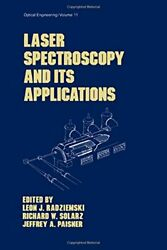 Laser Spectroscopy And Its Applications Optica, Solarz, Paisner-,