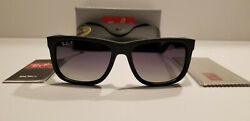 New Ray Ban Sunglasses Justin Classic Polarized RB4165 622 T3 Grey Gradient 54mm $60.00