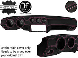 Pink Stitch Dash Dashboard Real Leather Cover Fits Datsun 260z 2+2 Jf2