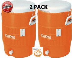 Igloo 5 Gallon Heavy Duty Beverage Sports Outdoor Water Cooler Choose Quantity $37.95