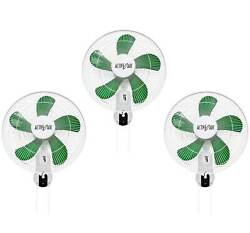 Active Air Acf16 16 3-speed Mountable Oscillating Hydroponic Grow Fan 3 Pack