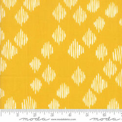 Wild Nectar Fabric Floral Diamonds Gold 11806 12 Quilt Shop Quality Cotton Oop