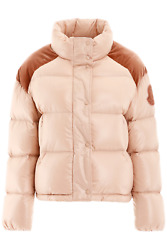 New Moncler Basic Chouette Puffer Jacket 45348 80 68950 Rosa Authentic Nwt