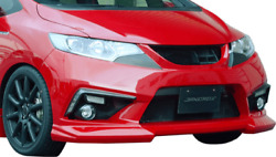 Takeroand039s Front Bumper Spoiler Frp For The Honda Fit Hybrid Gp5/6