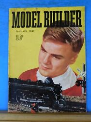Model Builder 1941 January Lionel Magazine Signal And Control Lineside Scenery Lay