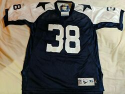 Nfl Dallas Cowboys Reebok Vintage Collection Throwback Jersey38 Williams New