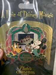 Walt Disney World Trading Pins A Piece Of Movies Chip And Dale Merry Christmas