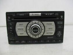 Navigation System Radio Cy08d Clarion Cd Changer Mp3/bt Nissan X-trail T31