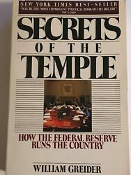 Secrets Of The Temple How The Federal Reserve Runs The Country- William Greider