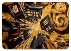 DOCTOR WHO EXPLODING TARDIS Refrigerator Photo Fridge magnet Collectibles