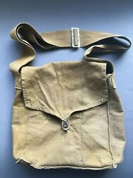 Wwii Original Soviet Russian Bag For Army Gas Mask