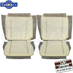 62-65 Gm A, X And B Body Front Bucket Seat Foam Buns Pair Pui New