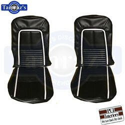 1967 67 Camaro Deluxe Front Seat Covers Upholstery Pui New
