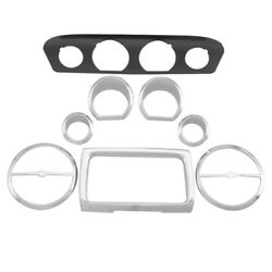 Abs Plastic Bezel Trim Fits For Harley Touring Electra Street Tri Glide Flhx